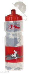 Thermo bottle m-Wave Plastic red