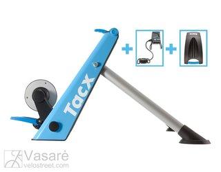 Treniruoklis TACX Blue Motion Smart +Greičio ir minimo dažnio daviklis +stovas priekiniam ratui