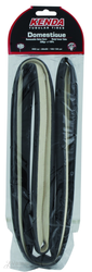 tubular tire 700x22C, -DOMESTIQUE-, 220 TPI, NRC, Butyl inner tube, black