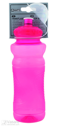 waterbottle MIGHTY, plastic, 700 ccm, red transparent