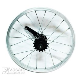 Wheel 16'' rear 1 speed, with coaster brake