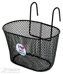 Wire basket, for children, black