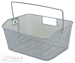 Wire basket silver