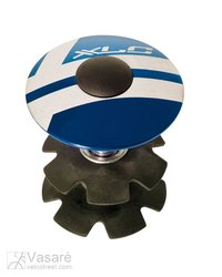 "XLC A-Head Plug AP-S01 1.1/8"", Alu, blue"