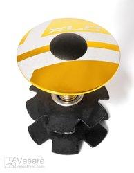 "XLC A-Head Plug AP-S01 1.1/8"", Alu, gold"