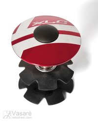 "XLC A-Head Plug AP-S01 1.1/8"", Alu, red"