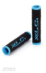 XLC Bar Grips 'Dual Colour' black/blue 125 mm