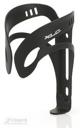 XLC Drinking Bottle Holder Alu BC-A04 black matt, glatte Form