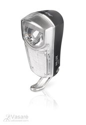 XLC headlight LED reflector 35Lux, switch, parking light