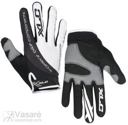 XLC Long-fingered gloves Mercury CG-L04 white/black