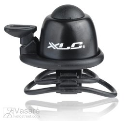 XLC Mini bell DD-M07 black Ø 22,2-31,8 mm