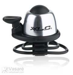 XLC Mini bell DD-M07 silver Ø 22,2-31,8 mm