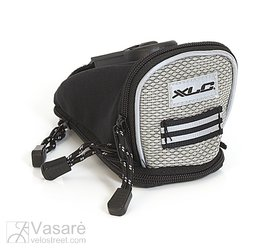 XLC Saddlebag anthracite/silver sz. S