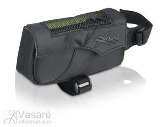 XLC rėmo  krepšelis  BA-S60juodas/anthracite, 15x4