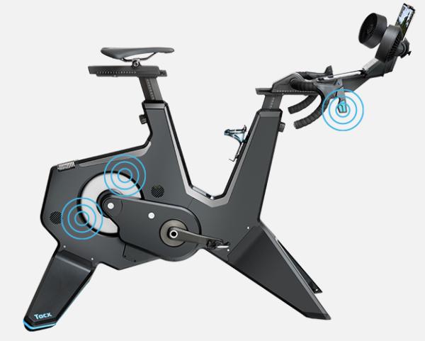 Tacx Neo Bike road feel and gear feel